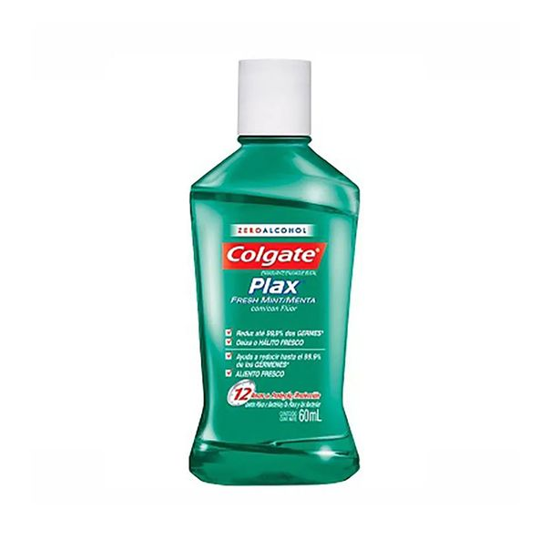 Enxaguante-bucal-plax-fresh-mint-Colgate-60ml