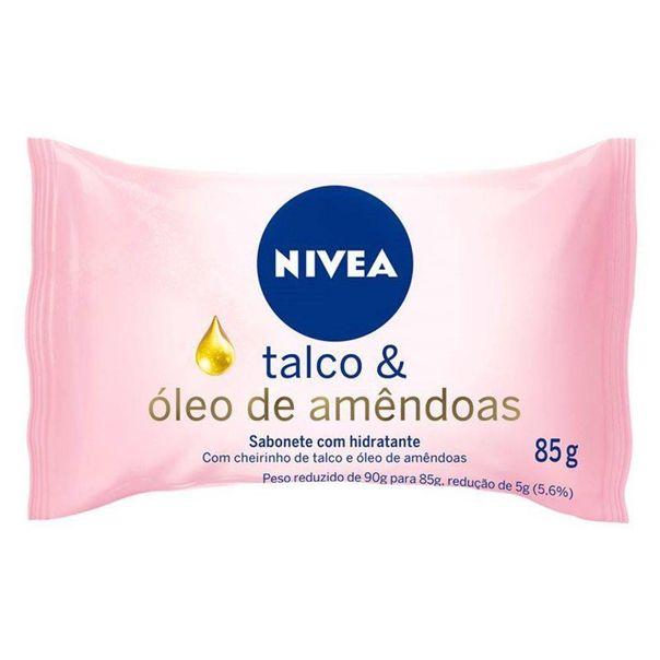 Sabonete-talco-e-oleo-de-amendoas-Nivea-85g
