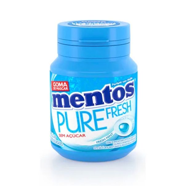 Chiclete-pure-fresh-mint-Mentos-56g