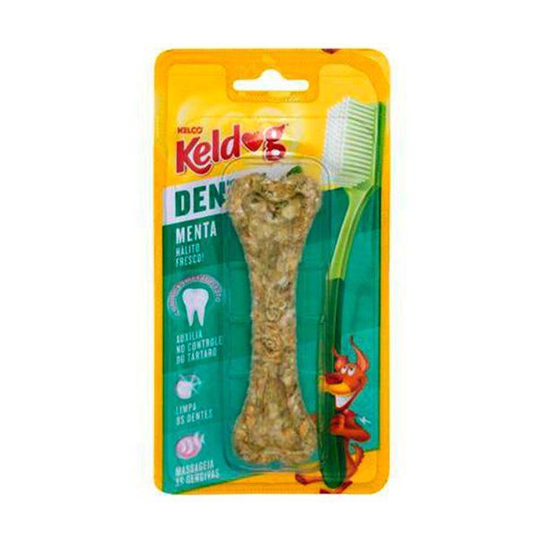 Alimento-para-caes-osso-kelco-dental-menta-Keldog-40g
