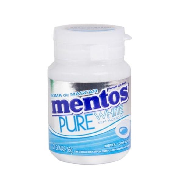 Goma-de-mascar-pure-white-menta-Mentos-56g