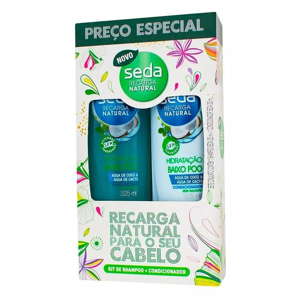 Kit-shampoo-e-condicionador-baixo-poo-hidratacao-Seda-325ml