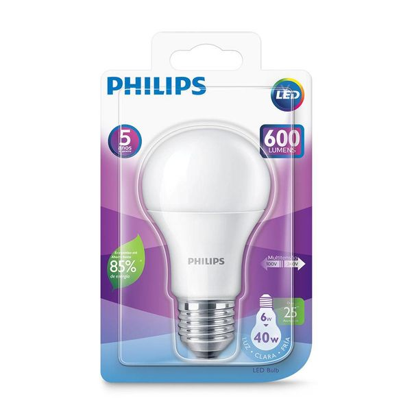 Lampada-led-6w40w-branca-Philips