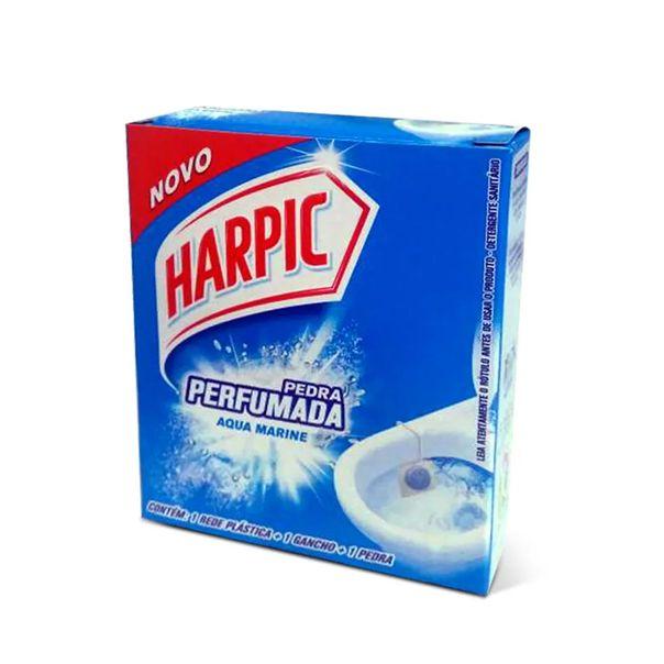 Pedra-sanitaria-aroma-plus-marine-Harpic-20g
