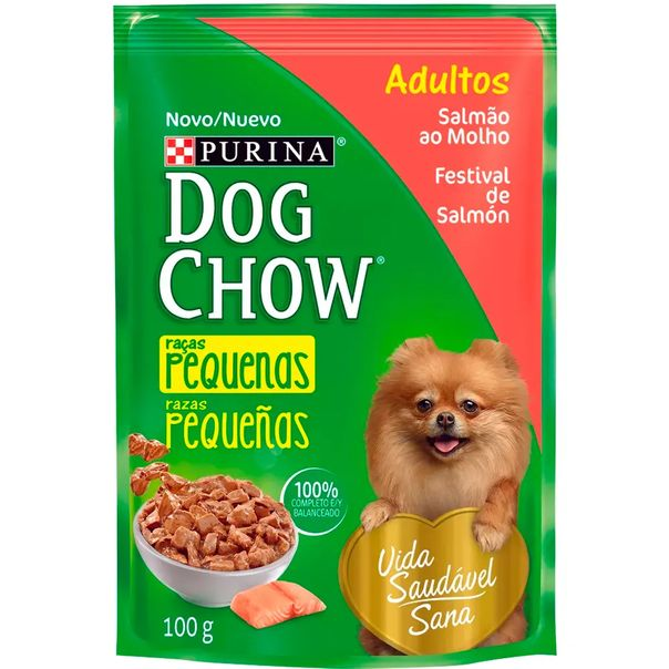 Racao-dog-chow-para-caes-adultos-racas-pequenas-sabor-salmao-sache-Purina-100g