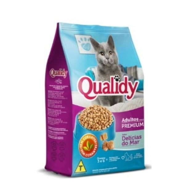 Racao-para-gatos-adultos-sabor-delicias-do-mar-Qualidy-1kg