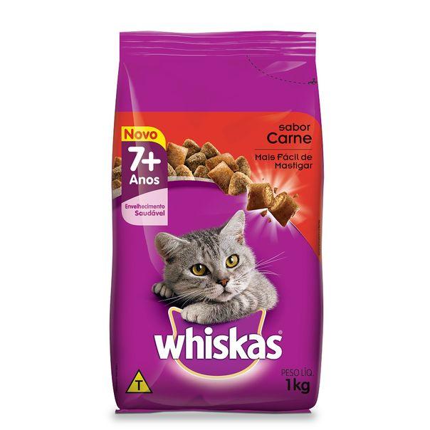 Racao-para-gatos-sabor-carne--7-anos-Whiskas-3kg
