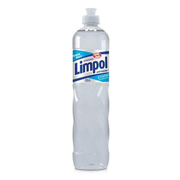 Detergente-liquido-cristal-Limpol-500ml