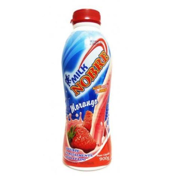 Iogurte-bebida-lactea-de-morango-Milk-Nobre-900g