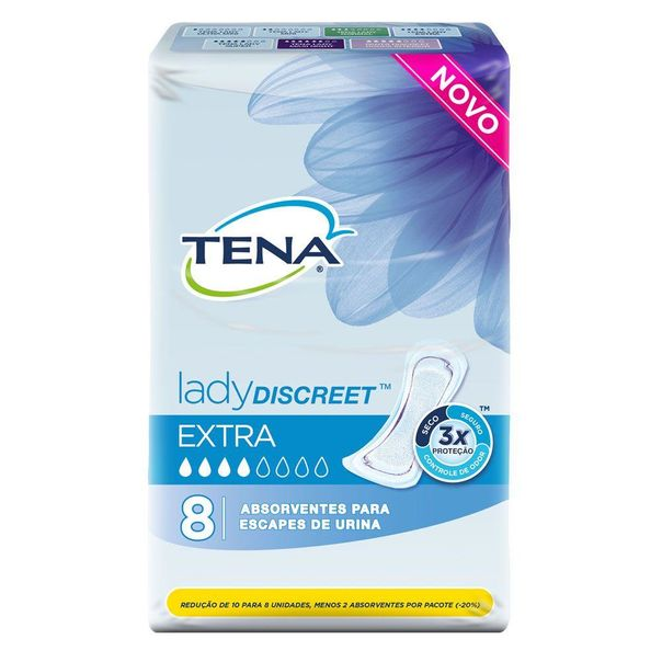 Absorvente-lady-discreet-extra-8-unidades-Tena