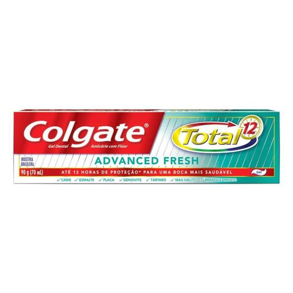 Creme-dental-total-12-advanced-fresh-Colgate-90g