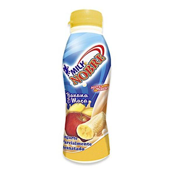 Iogurte-de-banana-e-maca-Milk-Nobre-800g