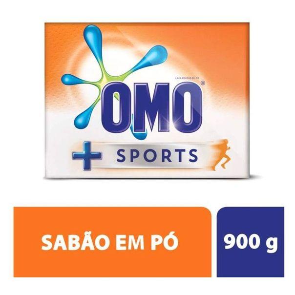 Lava-roupa-em-po-sports-Omo-900g