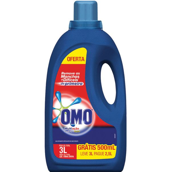 Sabao-liquido-puro-cuidado-leve-3-pague-2-Omo-5-litros