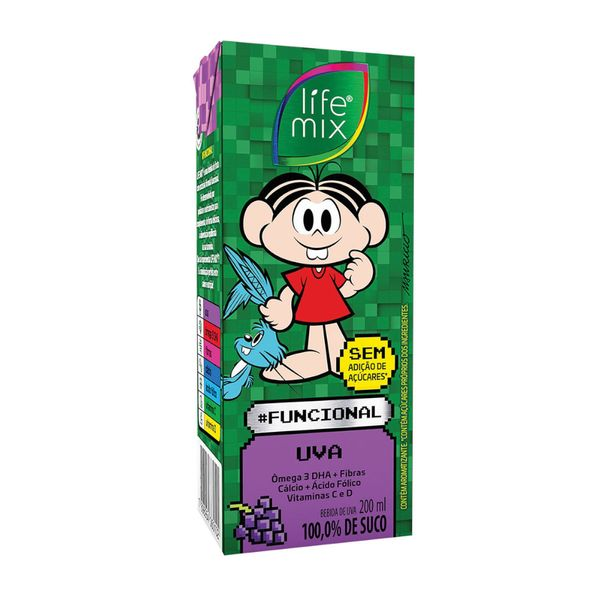 Suco-sabor-uva-kids-bebida-funcional-Life-Mix-200ml
