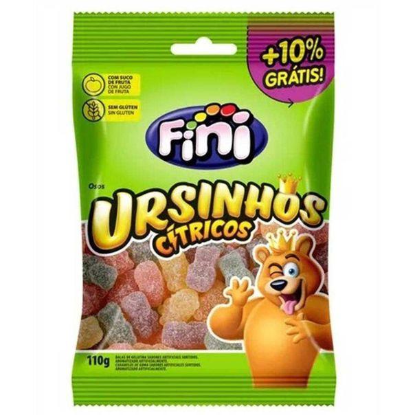 Bala-de-gelatina-ursinho-citrico-Fini-110g