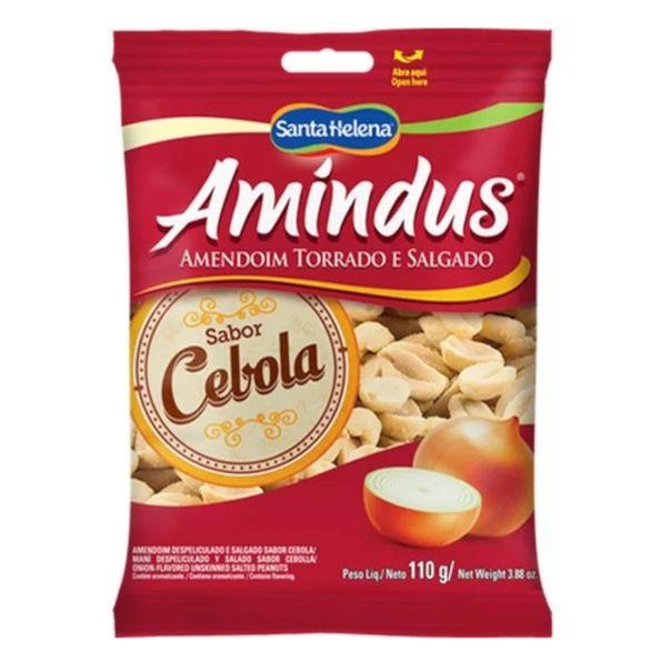 Amendoim-salgado-cebola-Santa-Helena-110g