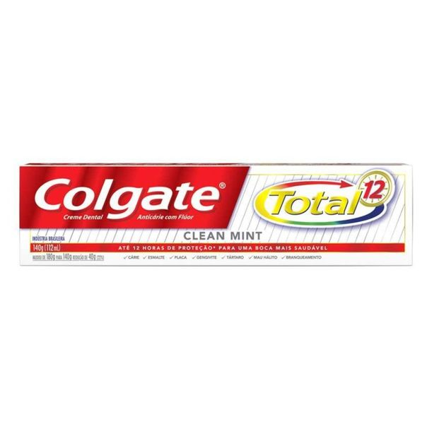 Creme-dental-total-12-clean-mint-Colgate-140g