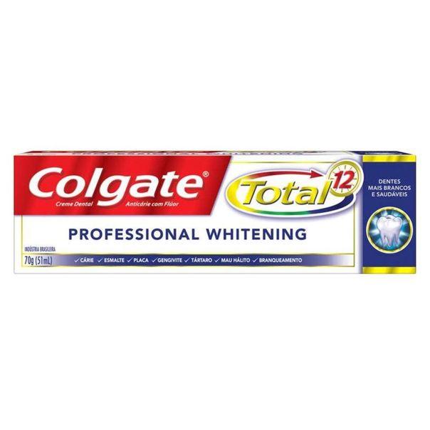Creme-dental-total-12-profissional-whiten-Colgate-70g