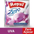 Gelatina-zero-acucar-sabor-uva-Royal-12g