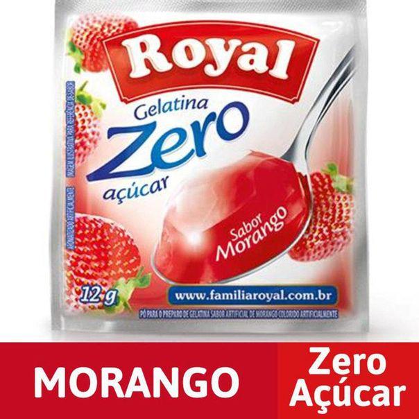Gelatina-zero-morango-Royal-12g