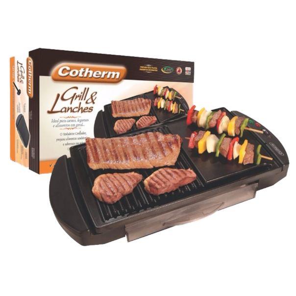 Churrasqueira-eletrica-grill-e-lanches-Cotherm