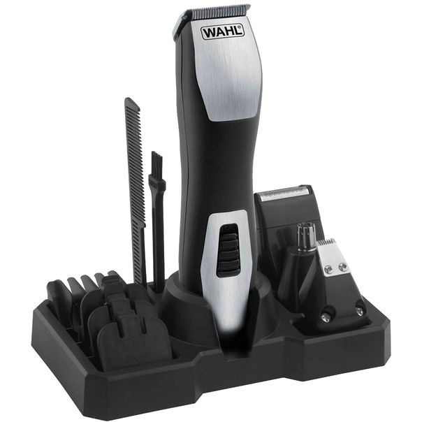 Kit-aparador-de-pelos-clipper-groomsman-Wahl