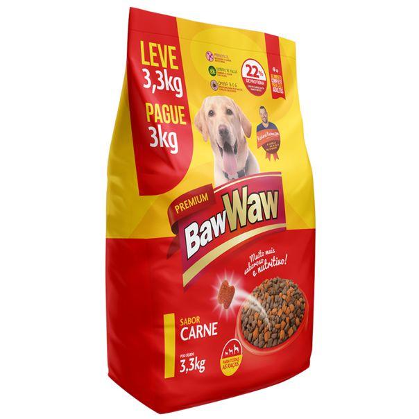 Racao-para-caes-sabor-carne-Baw-Waw-33kg