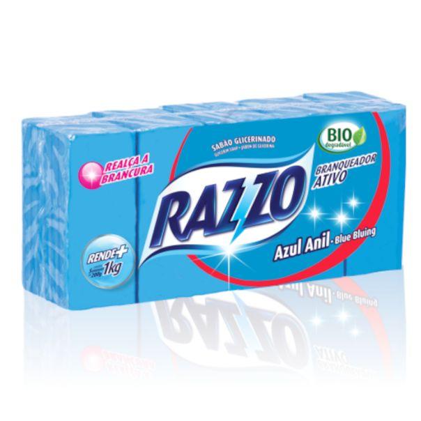 Sabao-em-barra-azul-anil-Razzo-1kg