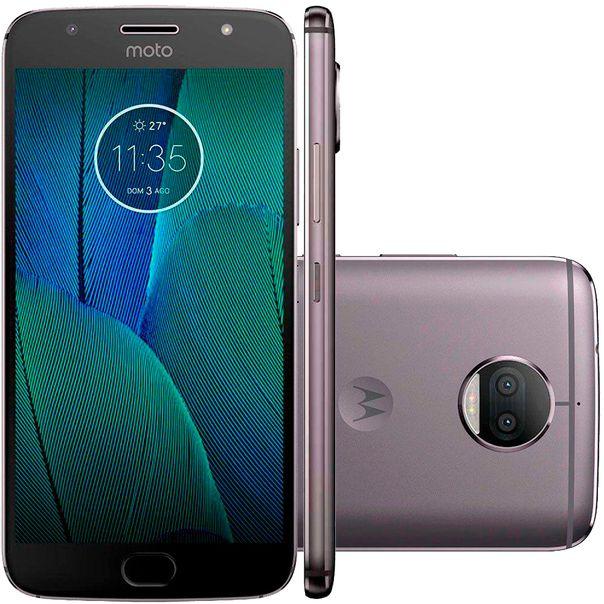 Smartphone-moto-g5s-plus-xt1802-platinum-Motorola