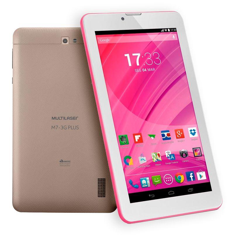 1fae727d14 Tablet m7 plus dourado quad core 3g Multilaser - coopsp