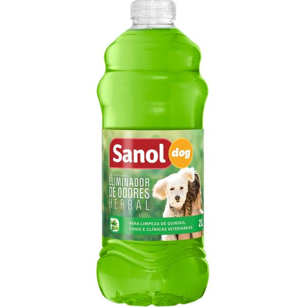 Eliminador-de-odores-dog-herbal-Sanol-2-litros