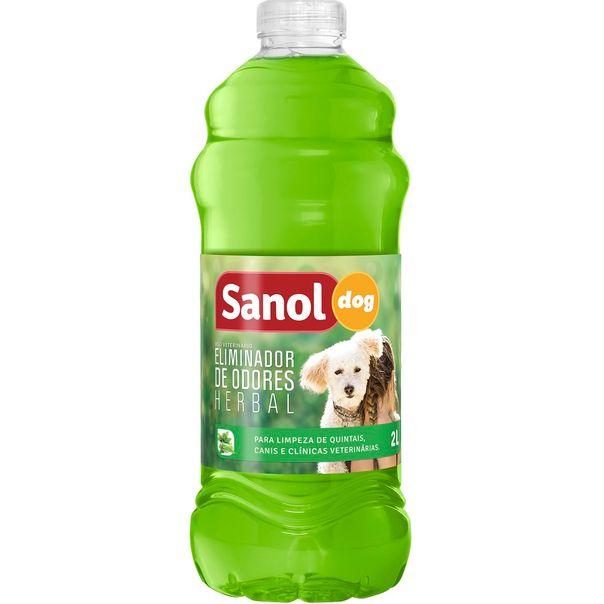 Eliminador-de-odores-dog-herbal-Sanol-2-litros