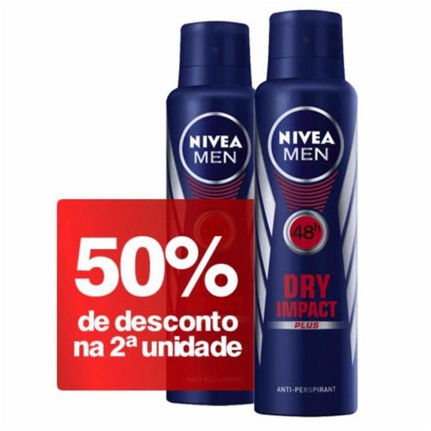 Kit-2-desodorantes-for-men-dry-impact-aerosol-Nivea-150ml