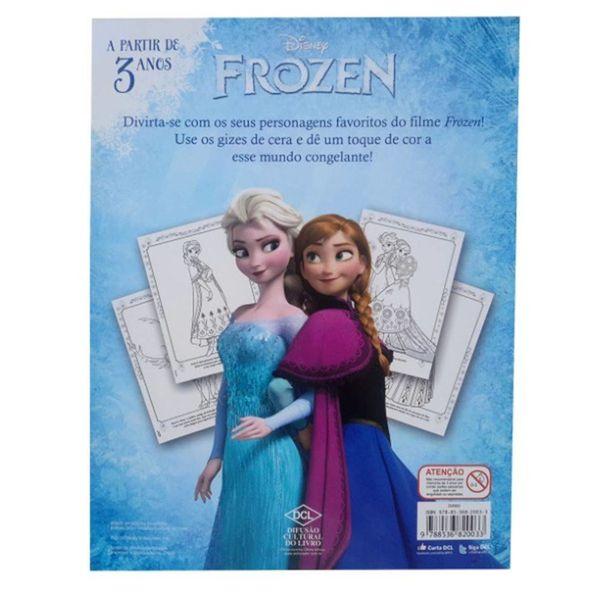 Livro-de-colorir-da-frozen-Disney