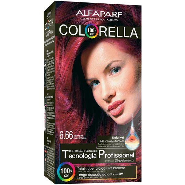 Tintura-permanente-kit-6.66-Vermelho-super-intenso-Colorella