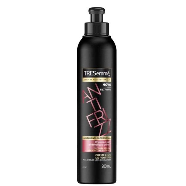 Creme-de-pentear-anti-frizz-frasco-Tresemme-200ml