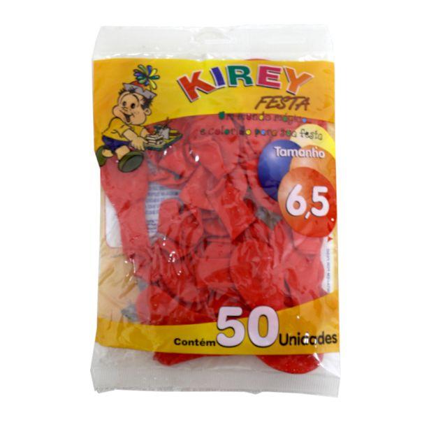 Balao-liso-nº6-vermelho-com-50-unidades-Kirey
