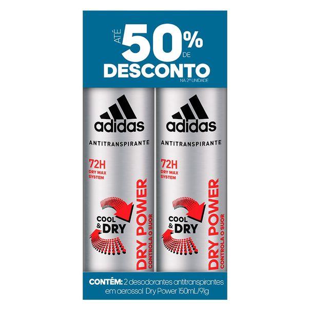 Desodorante-aerossol-masculino-dry-power-com-50--de-desconto-na-2ª-unidade-Adidas-150ml