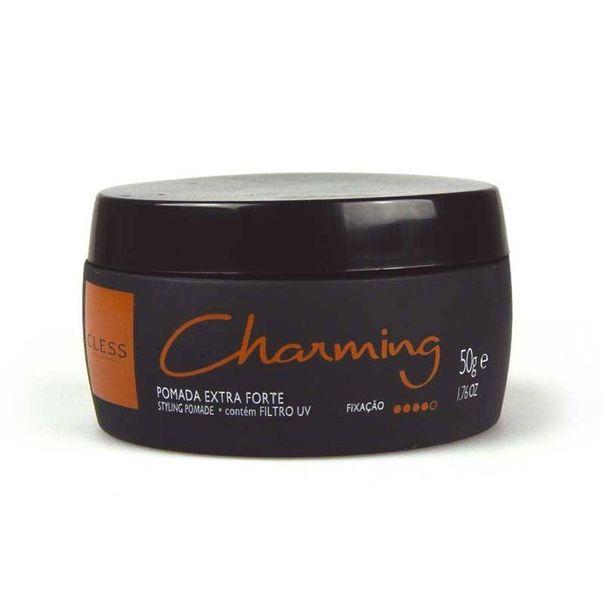 Pomada-black-extra-forte-fixador-de-cabelo-Charming-50g