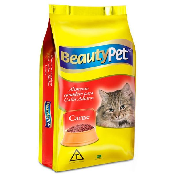 Racao-completa-para-gatos-sabor-carne-Beauty-Pet-500g