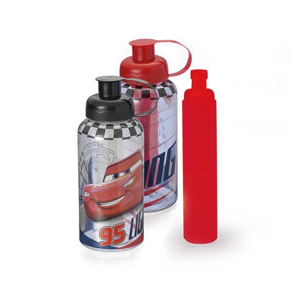 Garrafa-squeeze-carros-tubo-de-gelo-Plasduran-550ml