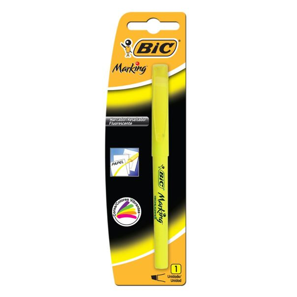 Marca-texto-amarelo-brite-Bic