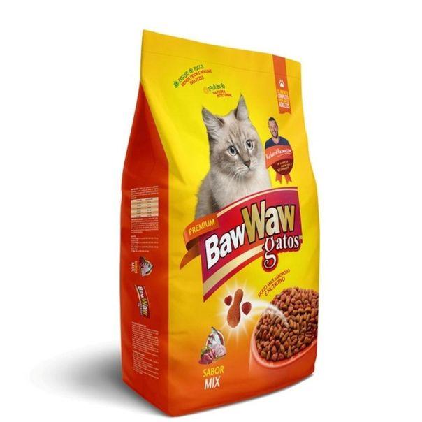 Racao-para-gatos-premium-completo-sabor-mix-Baw-Waw-500g