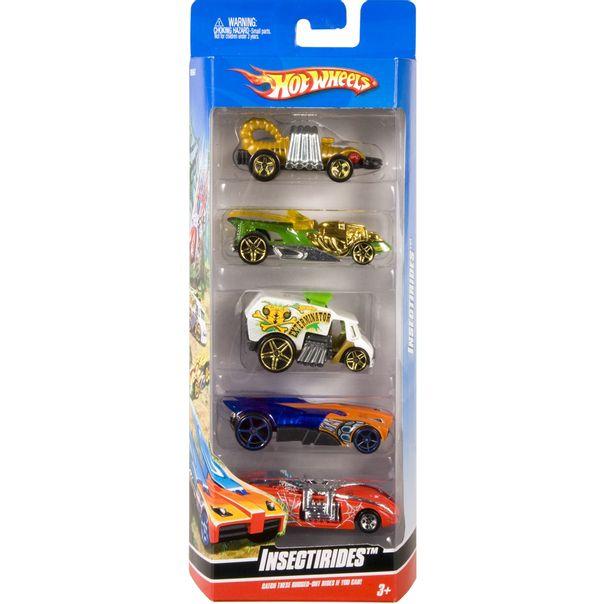 Carrinhos-com-5-unidades-mattel-Hot-Wheels