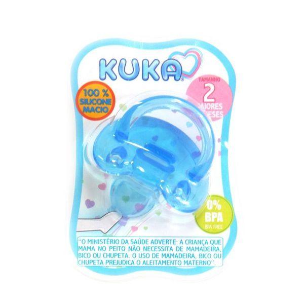 Chupeta-silicone-soft-nº2-azul-Kuka-