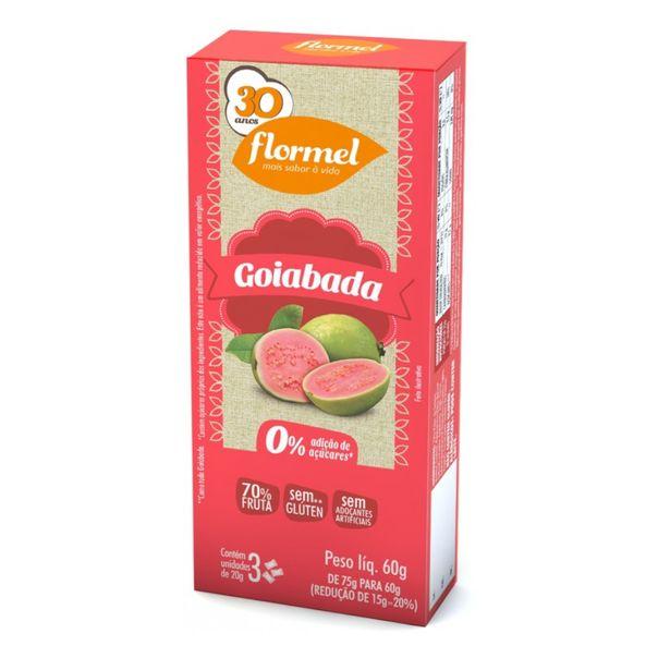 Doces-goiabada-zero-Flormel-66g
