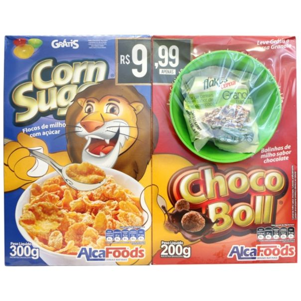 Kit-chocobol-Corn-Sugar---1-tigela-gratis-Alca-Foods-500g