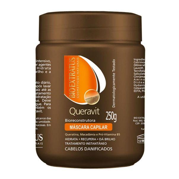 Mascara-de-hidratacao-queravit-biorecontrutora-Bio-Extratus-250g