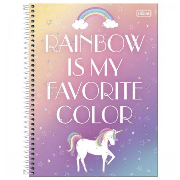 Caderno-universitario-blink-unicornio-arco-iris-Tilibra
